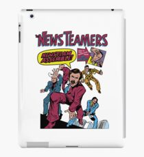News Team Assemble! iPad Case/Skin