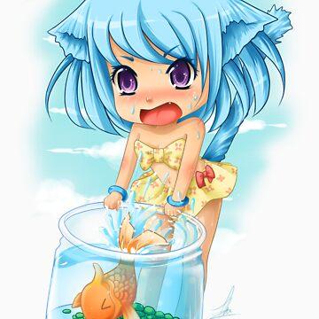 Kitten Splash 2 by chiichanny