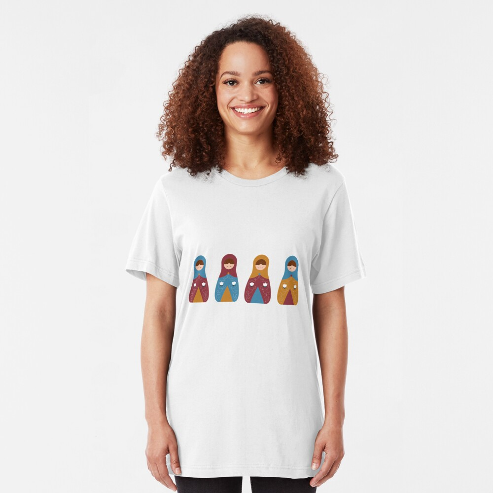 Matrioshkas 2 Slim Fit T-Shirt