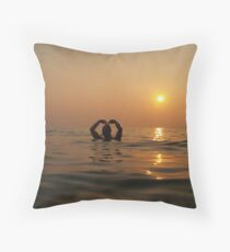 Happy Valentine's Day Throw Pillow