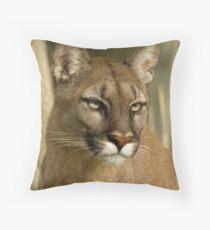 Puma Stare Throw Pillow