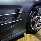 Mercedes-Benz SL 63 AMG Bi-Turbo [ Print & iPad / iPod / iPhone Case ] by Mauricio Santana