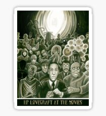 HP Lovecraft At The Movies Sticker