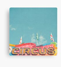 Circus Lights Canvas Print
