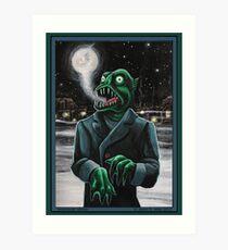 Innsmouth Winter Art Print