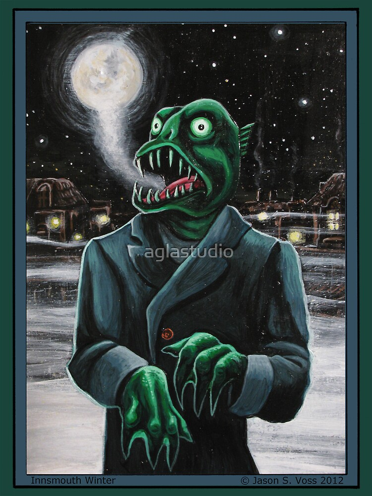 Innsmouth Winter by aglastudio