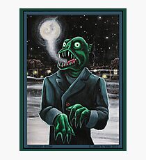 Innsmouth Winter Photographic Print