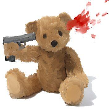 Teddy got a gun by ItsBadger