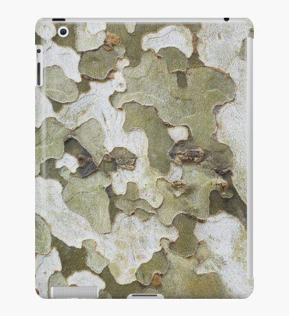 green wooden pattern iPad Case/Skin