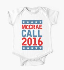 McCrea / Call 2016 Presidential Campaign - Lonesome Dove  Short Sleeve Baby One-Piece