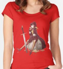 Anna Fire Emblem Design Fitted Scoop T-Shirt