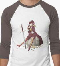 Camiseta ¾ estilo béisbol Anna Fire Emblem Design