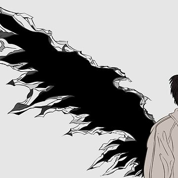 Castiel broken wings by MonkeyLi