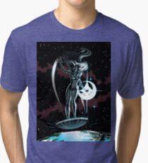 Lady Surfer Tri-blend T-Shirt
