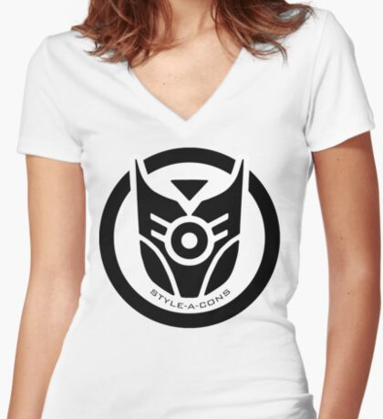 Style-A-Cons Women's Fitted V-Neck T-Shirt