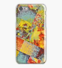 COLORFUL INDECISION 3 - Wild Vivid Rainbow Abstract Acrylic Painting Mixed Pattern Pretty Art Gift  iPhone Case/Skin