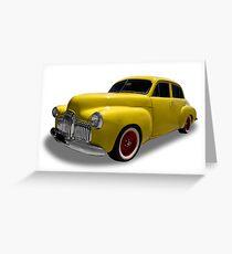 Holden - 1953 Sedan Greeting Card