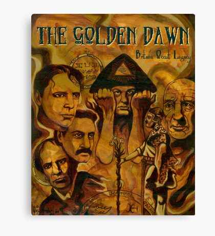 The Golden Dawn Canvas Print