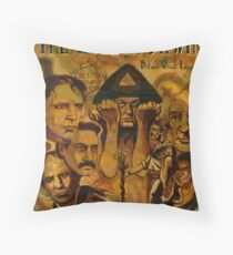 The Golden Dawn Throw Pillow