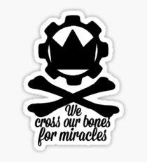 Cross Our Bones Sticker