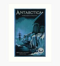 Antarctic Expedition Art Print