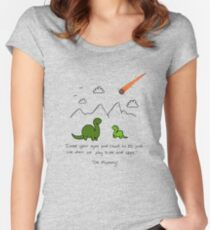The Saddest Doodle 'Colour'  Women's Fitted Scoop T-Shirt