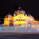 Flinders Street Station by CKImagery