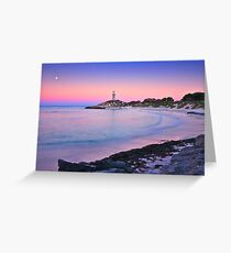 Pinky Beach Greeting Card