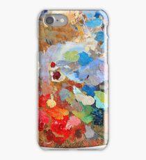 Artist's palette iPhone Case/Skin