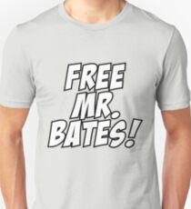 Free Mr. Bates Abbey Downton Unisex T-Shirt