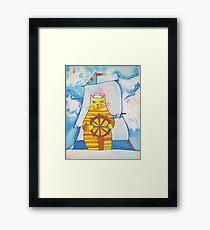 Mariner Cat Framed Print