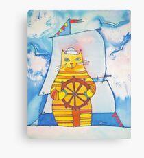Mariner Cat Canvas Print