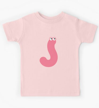 Pink worm Kids Clothes