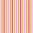 Tilkkutakki stripe 1 (Red) by nekineko