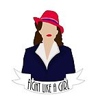 "P. Carter: ""Fight like a Girl."" by StephJp"