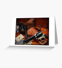 .45 Colt  Greeting Card