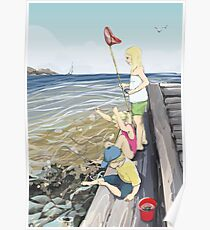 Donsö crab fishers Poster
