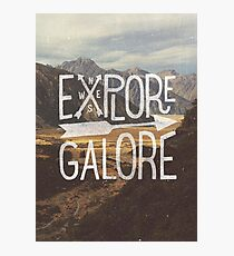 Explore Galore Photographic Print