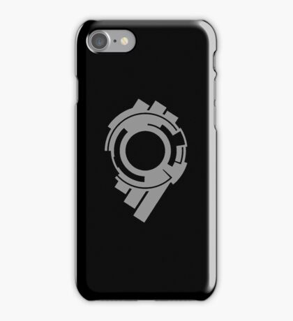 Section 9 (grey print) iPhone Case/Skin