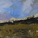 Snow on the tops by Linda Ridpath