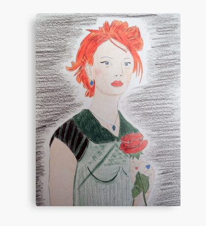 The Wild Rose Metal Print