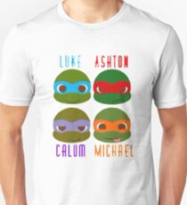 5 seconds of summer ninja turtles Unisex T-Shirt