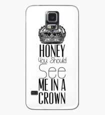 """""""Honey you should see me in a crown"""" Moriarty quote from Sherlock (BBC) Case/Skin for Samsung Galaxy"""