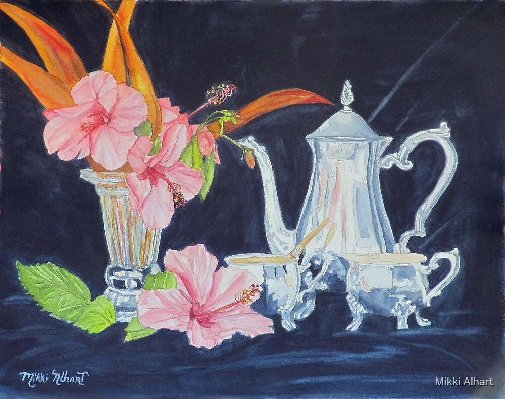 Tea Party by Mikki Alhart