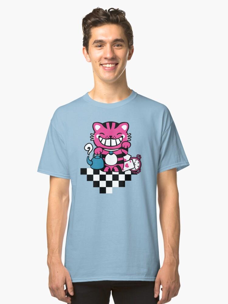 Maneki Cheshire Classic T-Shirt Front