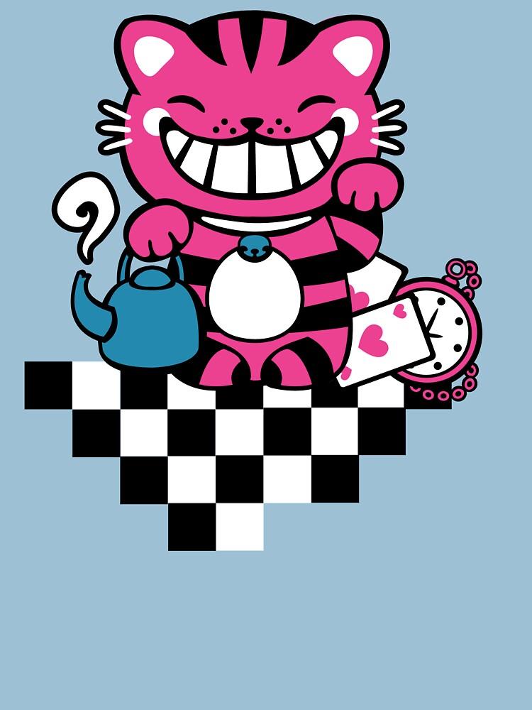 Maneki Cheshire by murphypop