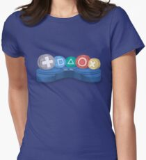 video games / jeux video Women's Fitted T-Shirt