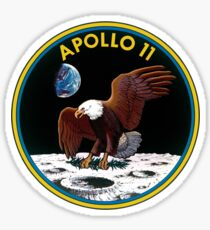 Apollo 11 Missionslogo Sticker