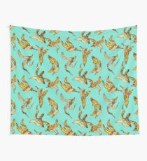 Banana Peel Pattern Wall Tapestry