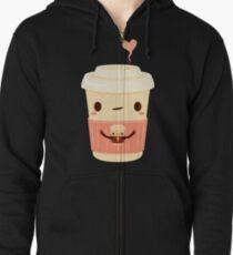 Café café Veste zippée à capuche